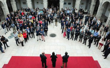 Recepción de asistentes. XXVII Jornadas Nacionales de ITV. Santander 2018