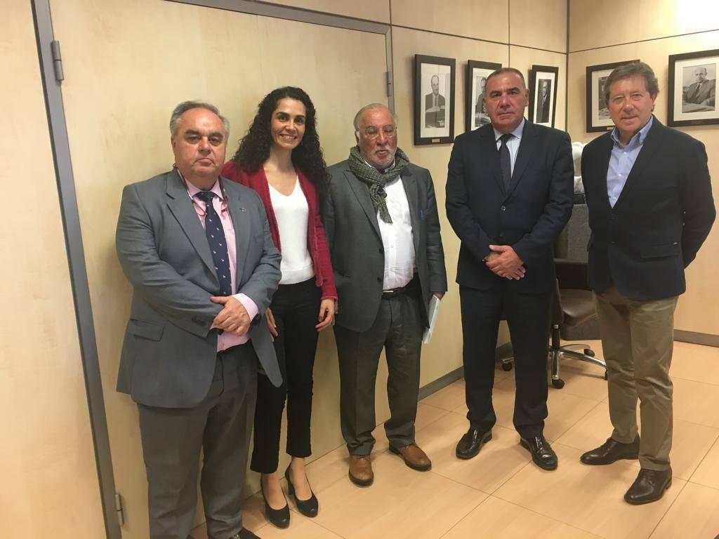 Reunión DGT Pere Navarro