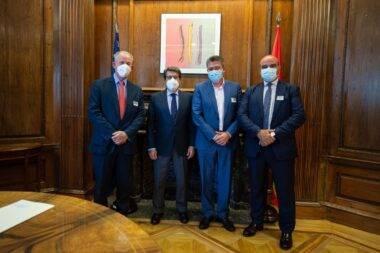 Foto AECA en el Congreso