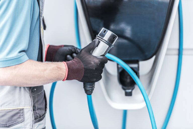 Charging EV Electric Cars